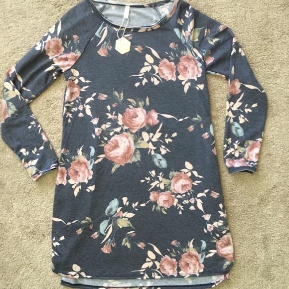 Pinkblush Dresses & Skirts - Pink Blush Maternity floral dress